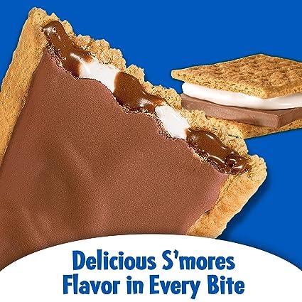 Kelloggs Pop Tarts Relleno de SMores Chocolate, Nube y Glaseado - 8 Unidades: Amazon.es: Alimentación y bebidas