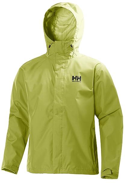 Helly Hansen Seven J Jacket – Chaqueta de lluvia para hombre, Hombre, color bright