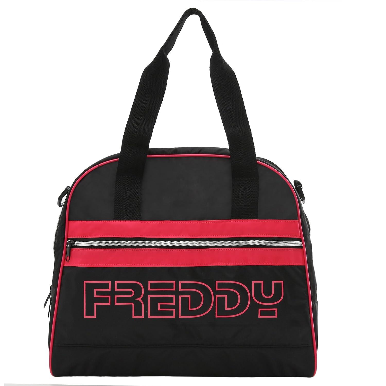 Freddy Borsa bowling bag in tessuto tecnico con inserti fluo