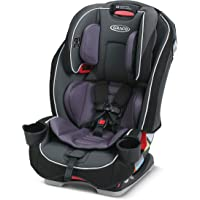 Graco SlimFit 3 in 1 Car Seat, Slim & Comfy Design Saves Space in Your Back Seat, Annabelle