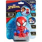 GoGlow Spider-Man Buddy Nattlampa och Ficklampa, Röd