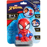 Homewares Marvel Spider-Man Kids Bedside Night Light and Torch Buddy by GoGlow Night Light and Torch