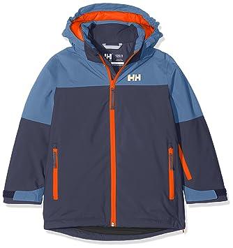 Helly Hansen Jr Progress Jacket Abrigo, Niños, (Azul Oscuro), años (Tamaño del Fabricante:12): Amazon.es: Deportes y aire libre