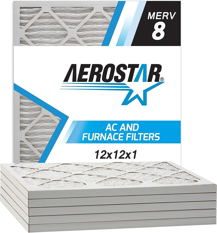 Aerostar 12x12x1 MERV 8 AC filter