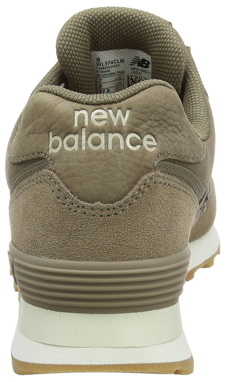 New Balance Damen Sneaker Wl574v2 Glitter Pack Sneaker Damen Mehrfarbig (Mushroom/Wl574clm) 3e4640