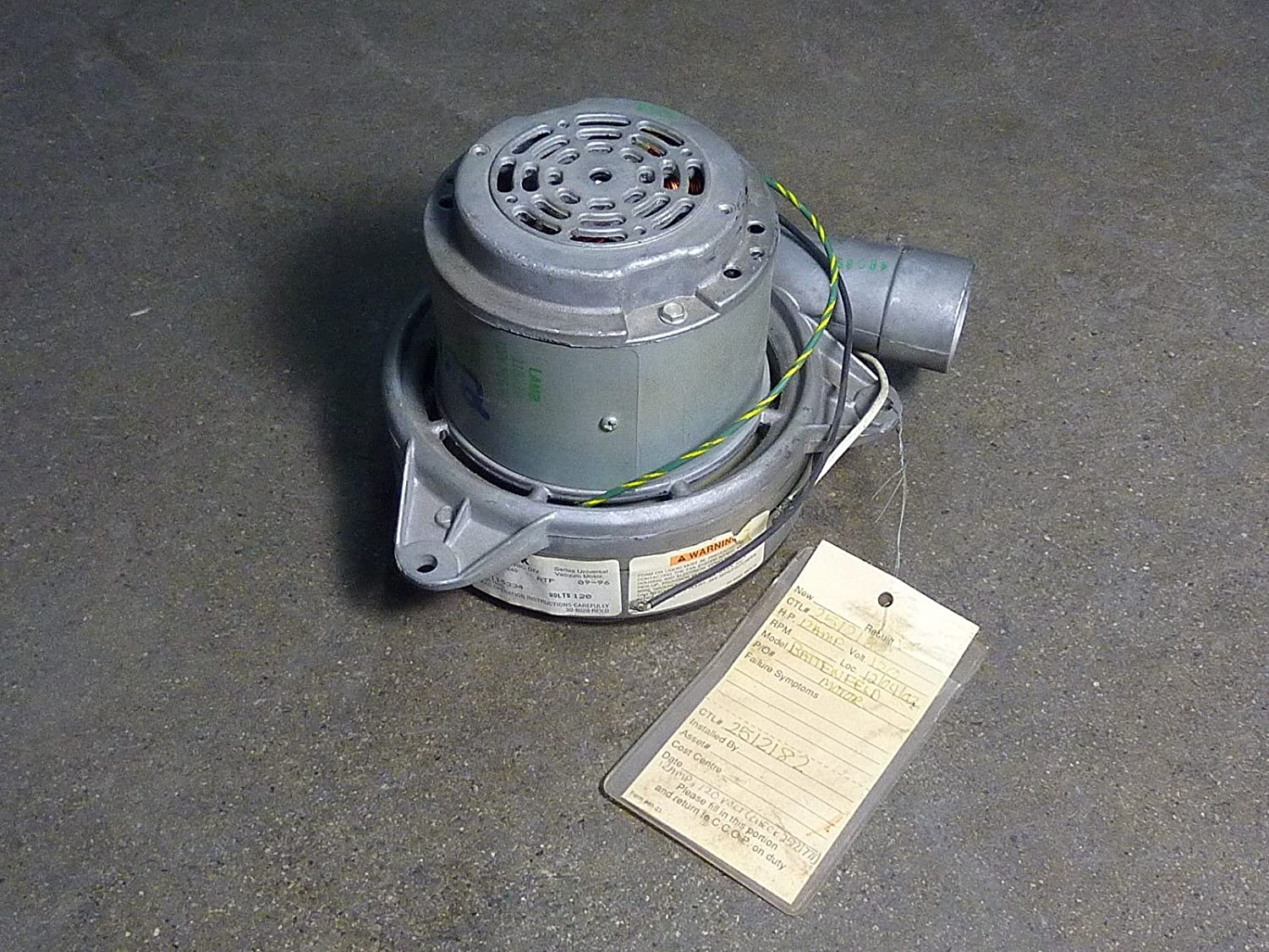 115334 Lamb Central Vacuum Motor