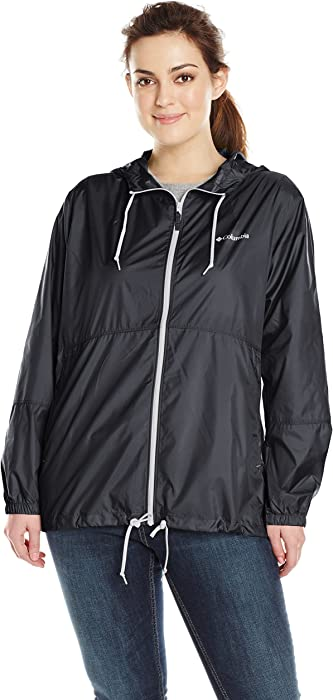 ab4489911a5 Columbia Women s Plus Size Flash Forward Windbreaker Jacket
