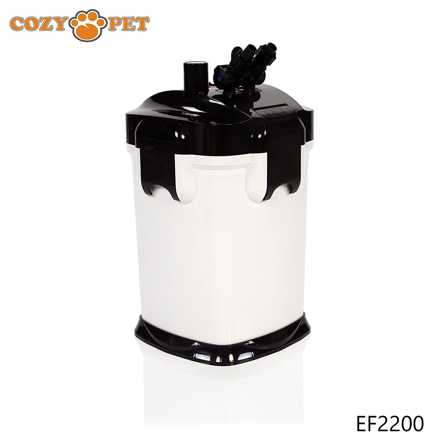 EF2200 Cozy Pet Crystal Clear Aquarium External Filter, 2200 Litres Hour. Model  EF2200 (We do not ship to the Channel Islands or The Isles of Scilly.)
