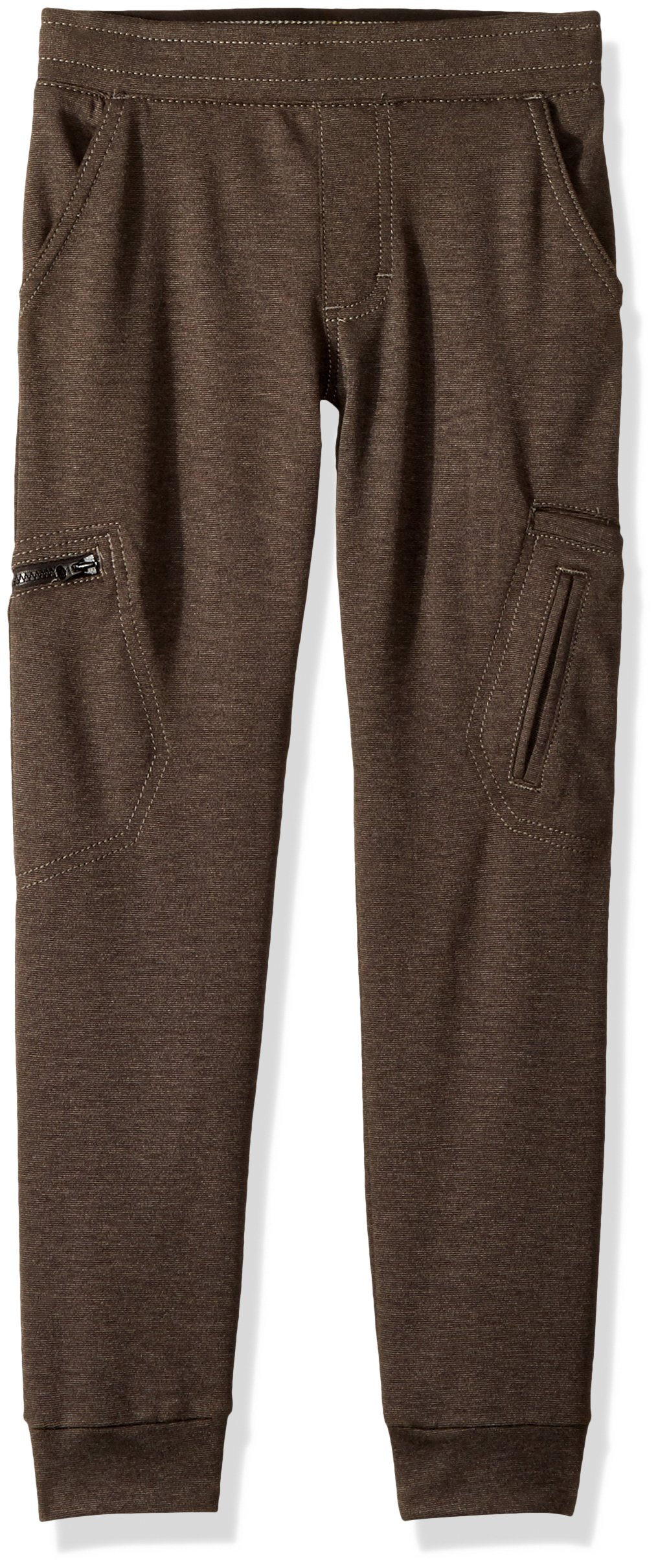 LEE Boys' Little X-Treme Comfort Pull-On Jogger Pant, Black Heather 5 Regular by LEE (Image #1)