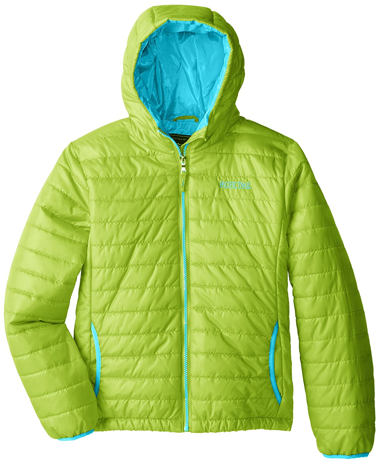 Pacific Trail Big Girls Narrow Channel Puffer Coat