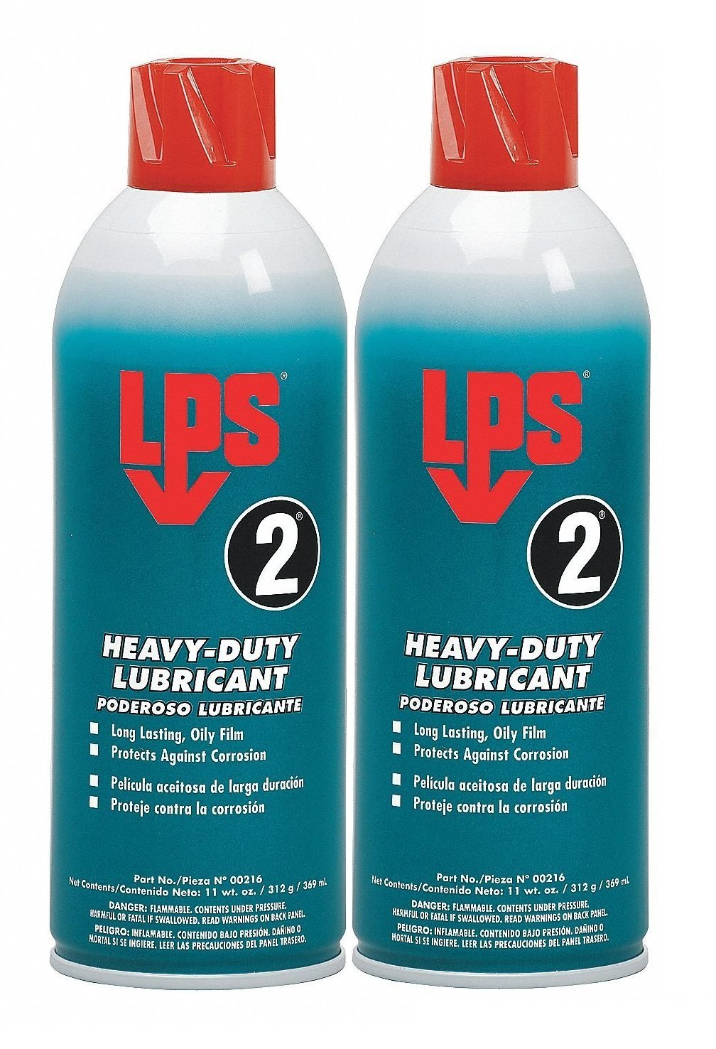 2-Pack LPS Labs LPS 2 Heavy-Duty Lubricant