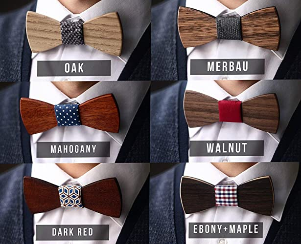 b3d304a16d0d Amazon.com: Wooden bow tie wood bow tie wood bowtie wooden bowtie father of  the groom gift Groomsman gift boyfriend wedding bow tie: Handmade