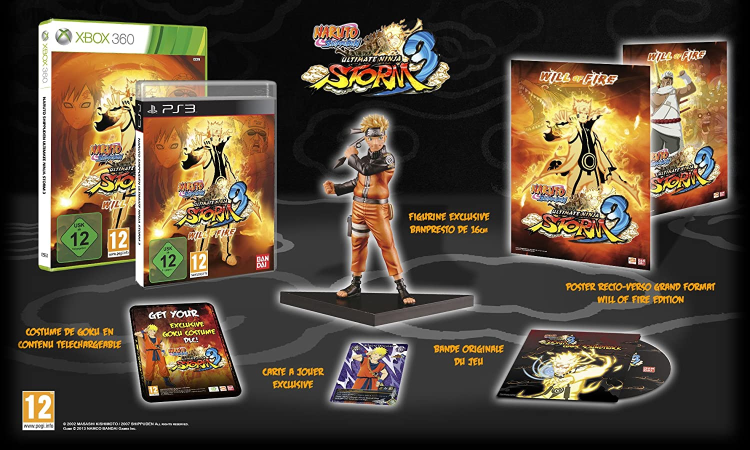 Naruto Shippuden: Ultimate Ninja Storm 3 Will Of Fire ...