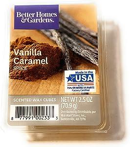 Better Homes and Gardens Wax Cubes, Vanilla Caramel Spice
