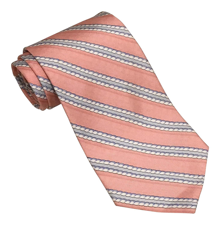 Vineyard Vines Pink Blue Rope Striped Print Tie