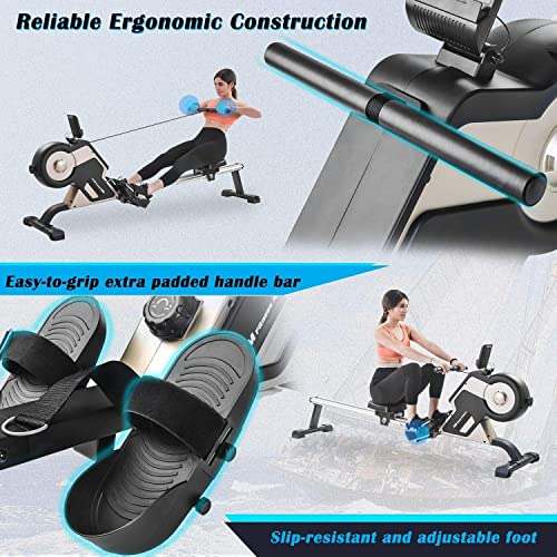 Merax Rowing Machine Magnetic Rower Machine Home Rower