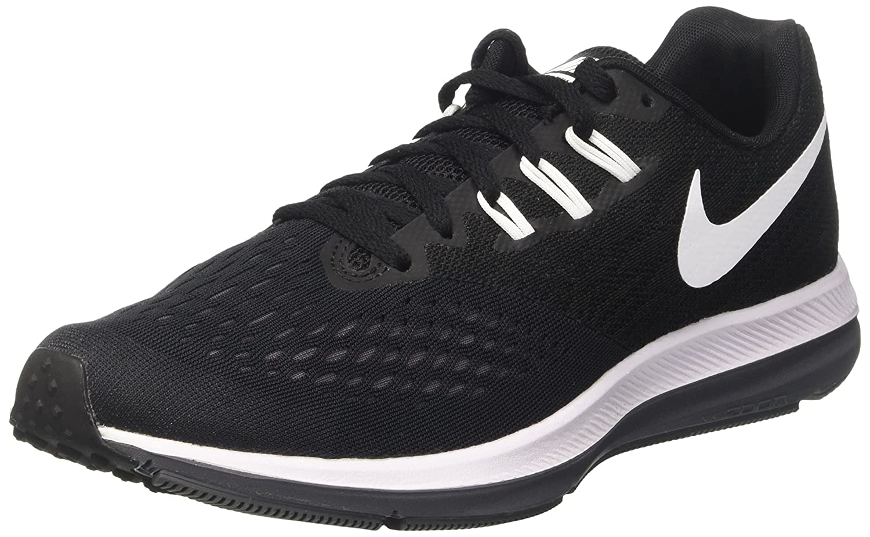 Nike Zoom Winflo 4, Zapatillas de Running para Hombre 40 EU|Negro (Black/White/Dark Grey)