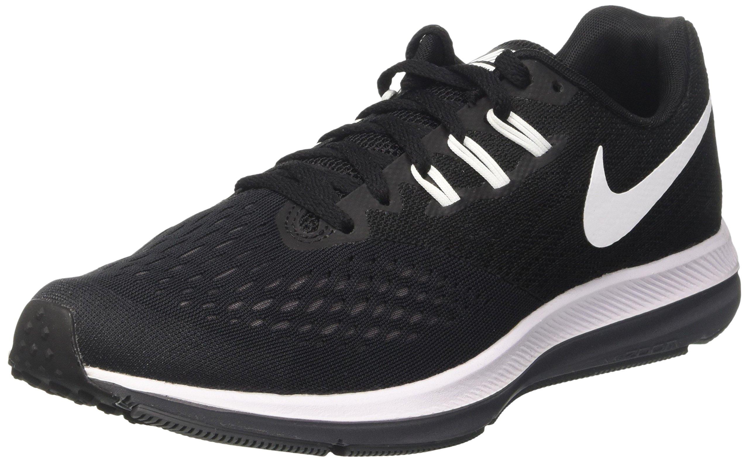 9122003482ed Galleon - Nike Men s Air Zoom Winflo 4 Running Shoe Black White Dark Grey  (10)