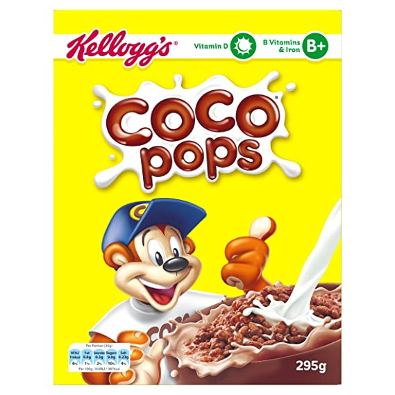 Kellogg S Coco Pops 295g Amazon In Grocery Gourmet Foods