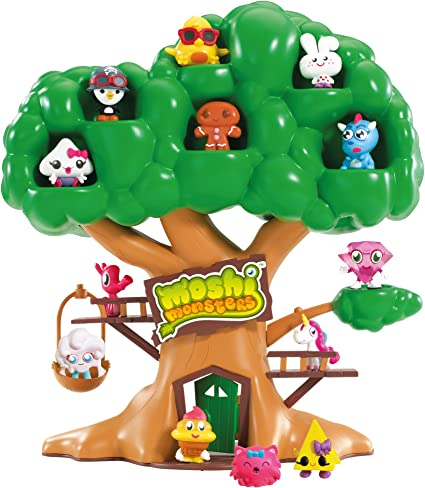 Amazon Com Moshi Monsters Moshling Treehouse Toys Games