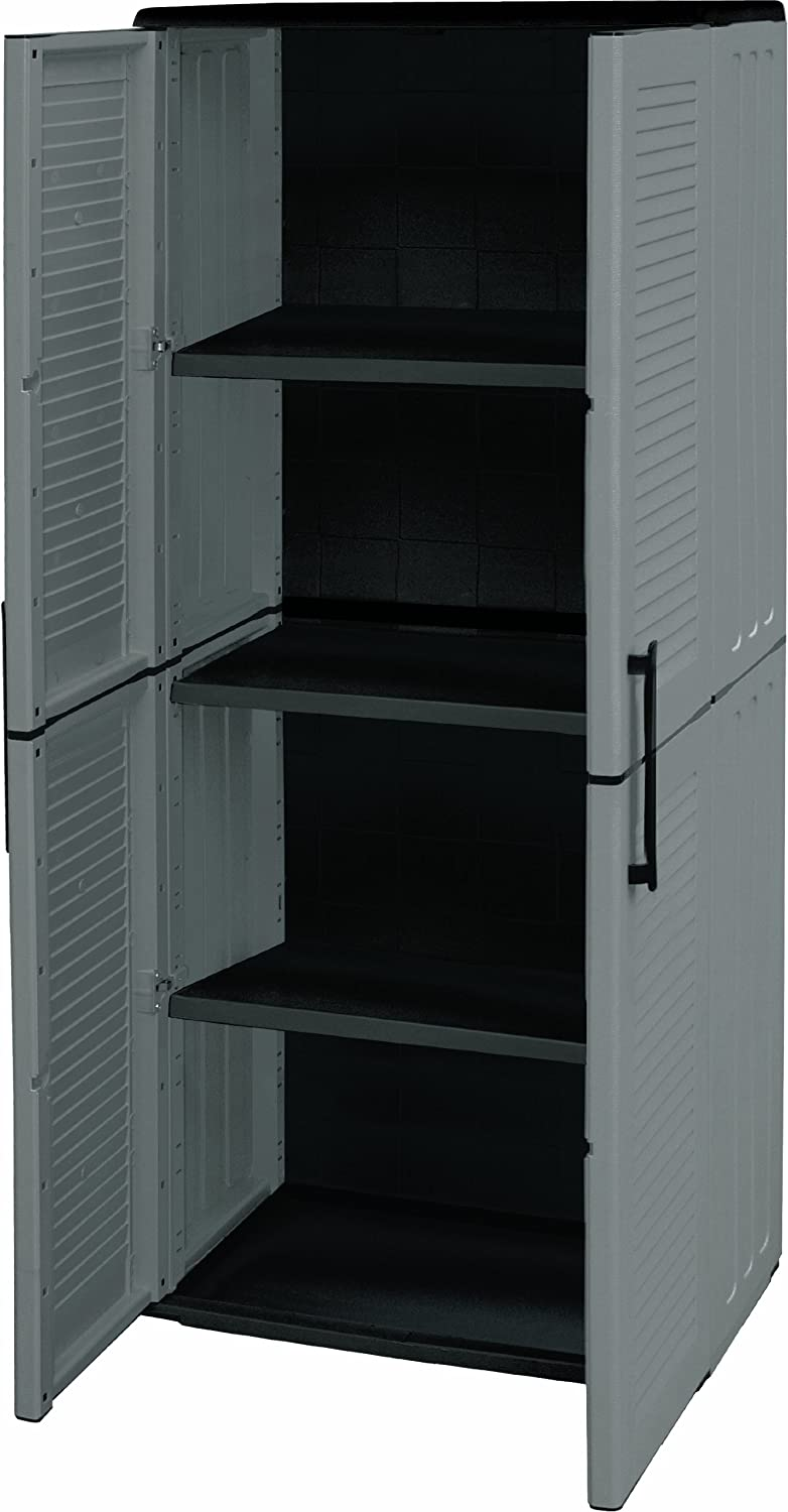 anthracite//rouge Casier vestiaire 3B4A armoire metallique 12 Compartiments rev/êtement en poudre 185 cm x 90 cm x 40 cm