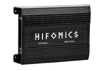 Hifonics Apollo hpx600.4 Apollo Series 600 W 4 canal amplificador de altavoces Car Audio