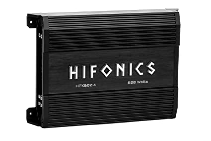 HIFONICS APOLLO HPX600.4 APOLLO SERIES 600W 4 CHANNEL SPEAKERS AMP CAR AUDIO STEREO 4