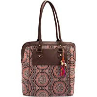 Vivinkaa Women's Cotton Multicolour Tote Bag