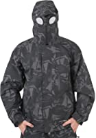 Mens New Location Waterproof Goggle Recco Rain Hooded Jacket Coat All Sizes