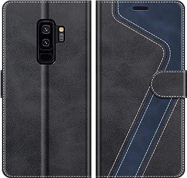MOBESV Funda para Samsung Galaxy S9 Plus, Funda Libro Samsung S9 ...