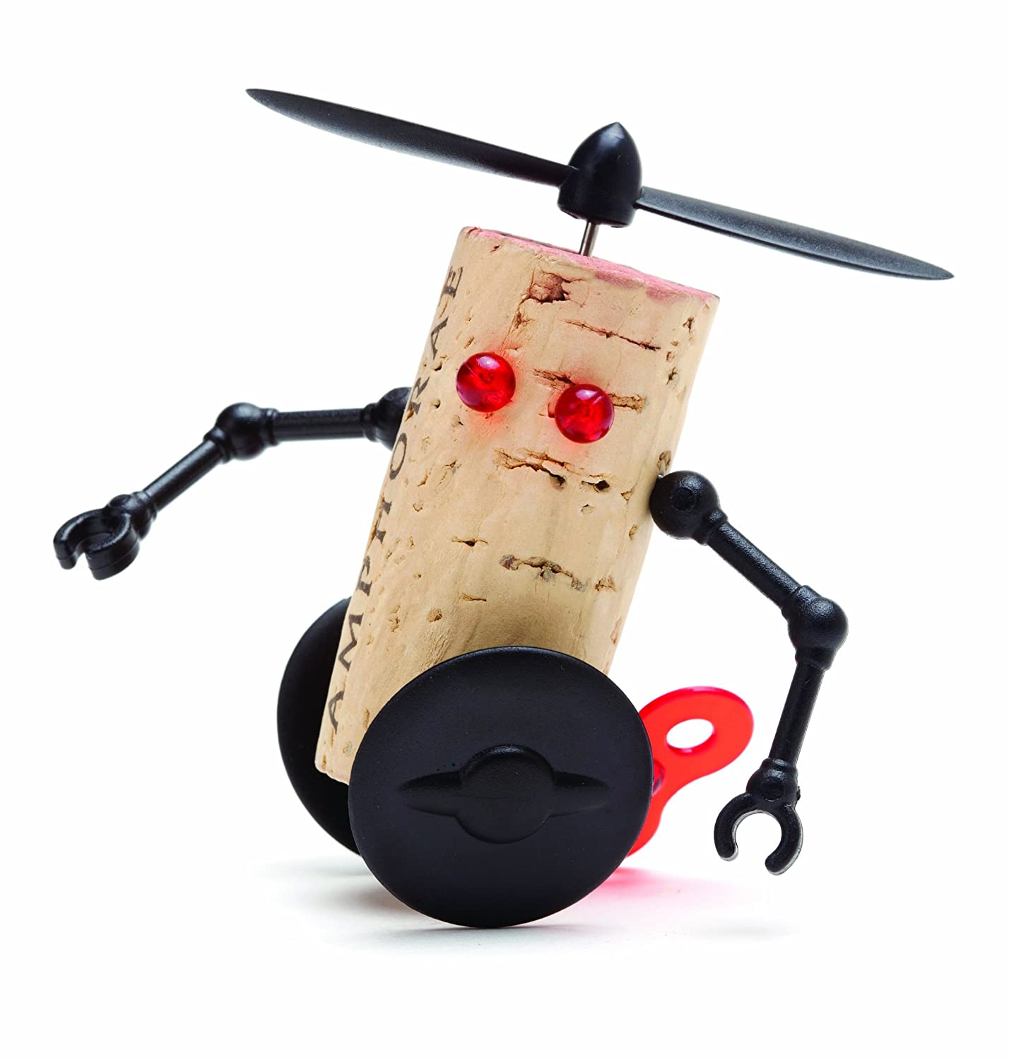 Amazon.com | Wine Accessories - Corkers Robots - Willy - Character ...