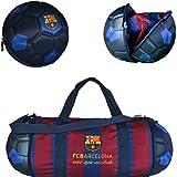 Official FC Barcelona Soccer Ball Duffle Bag