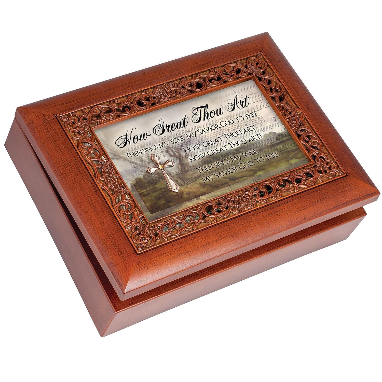 【本物新品保証】 Cottage Thou Garden How Great Thou Ornate Great Woodgrain音楽ボックス/ジュエリーボックスPlays How How Great Thou Art B00BRXA70M, PATISSERIE CUISSON:04bcd002 --- arcego.dominiotemporario.com