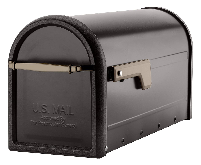 Architectural Mailboxes 8950RZ チャドウィック ポストマウントメールボックス ラージ ラブドブロンズ   B07G38C4LZ