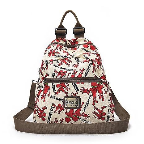 a49fe2a2fd Outreo Donna Zaino Borsa Moda Borsello Vintage Sacchetto Laptop Backpack  Studenti Bag Ragazza Scuola Borsetta per