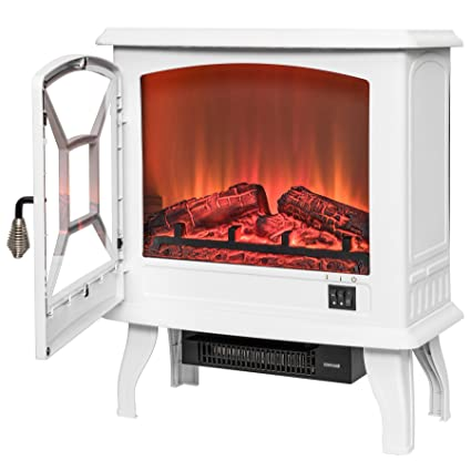 AKDY 20quot Retro Style Floor Freestanding Vintage Electric Stove Heater Fireplace AK ND