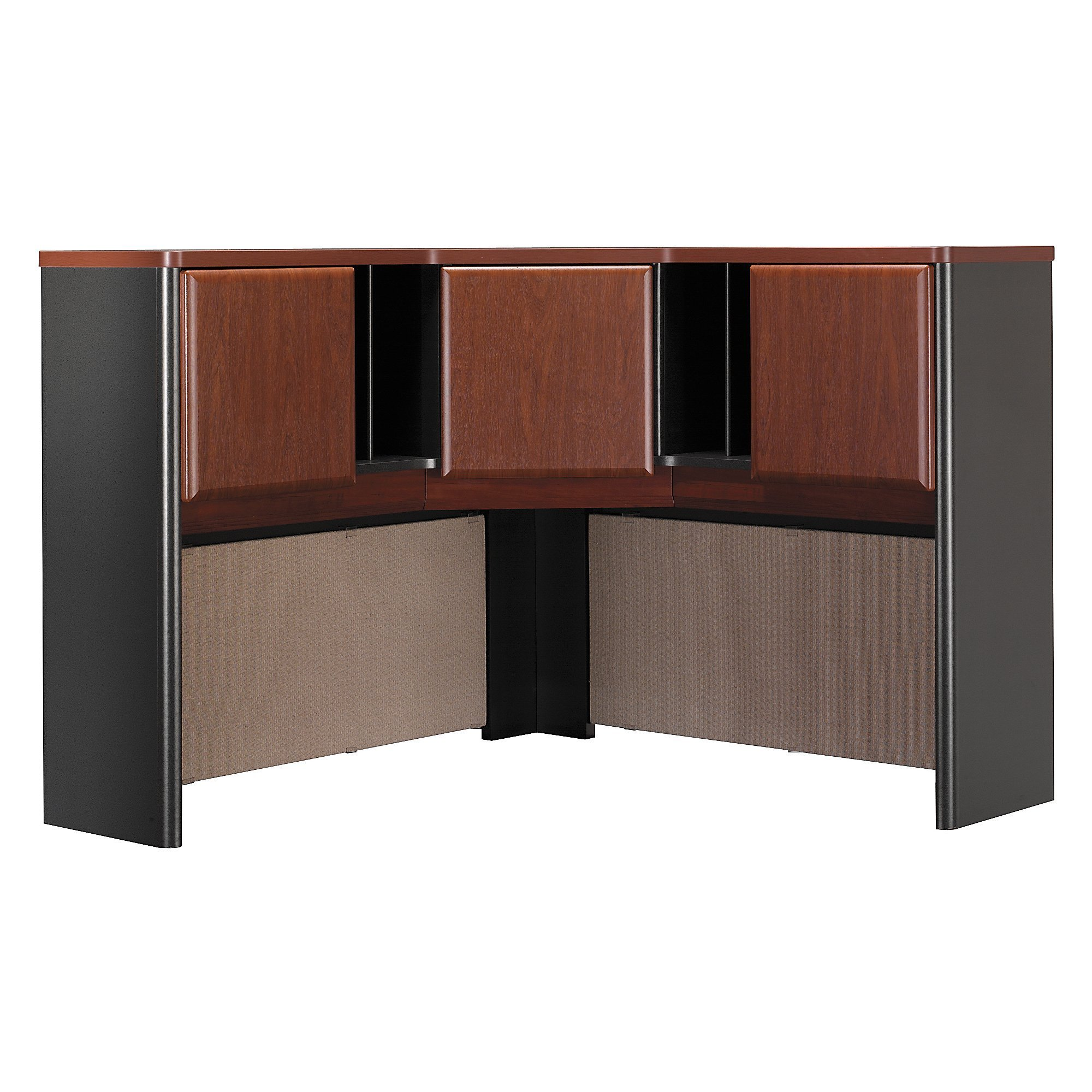 Bush Business Furniture Series A Collection 48W Corner Hutch in Hansen Cherry by Bush Business Furniture