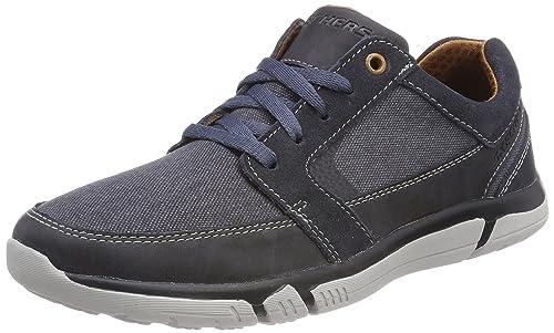 Skechers Creston-Vosen, Sneaker Uomo, Blu (Navy), 40 EU