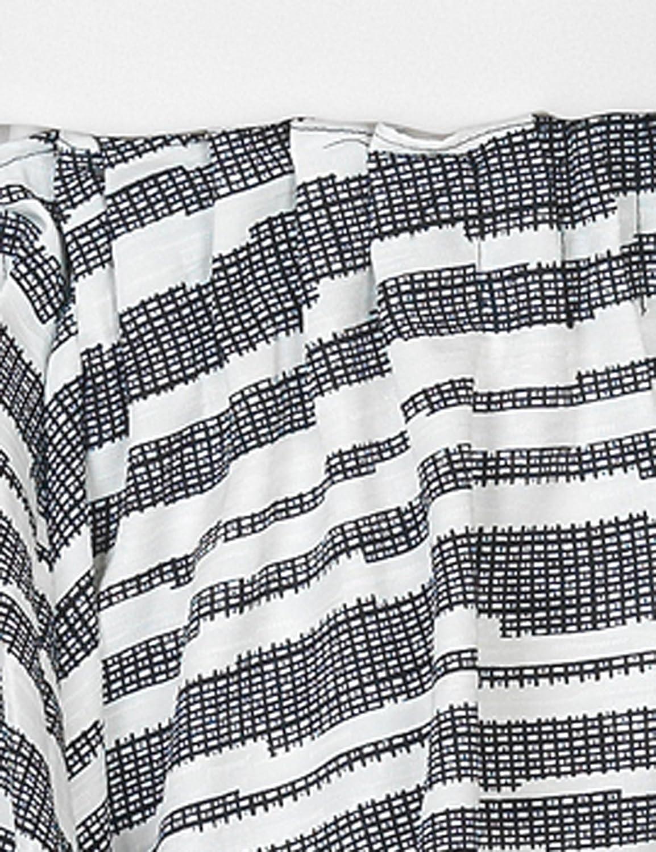 Soft Rebels Women's Lola Skirt Black And White Skirt 100% Polyester