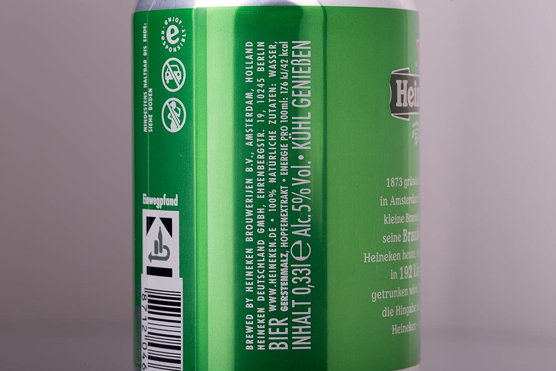 Mini Kühlschrank Heineken : Heineken dose l amazon bier wein spirituosen