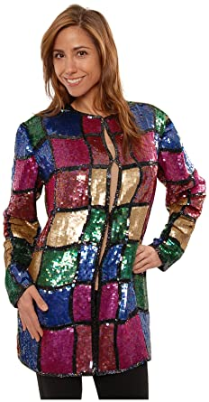 f5867c7088701 The Evening Store Great Heavy Sequim Beaded Jacket Plus Sizes (1X)