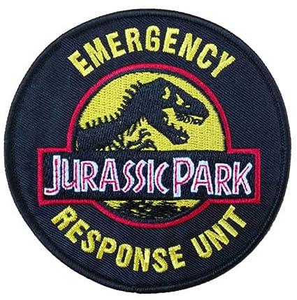 Amazon Jurassic Park Logo Patch Emergency Response Unit