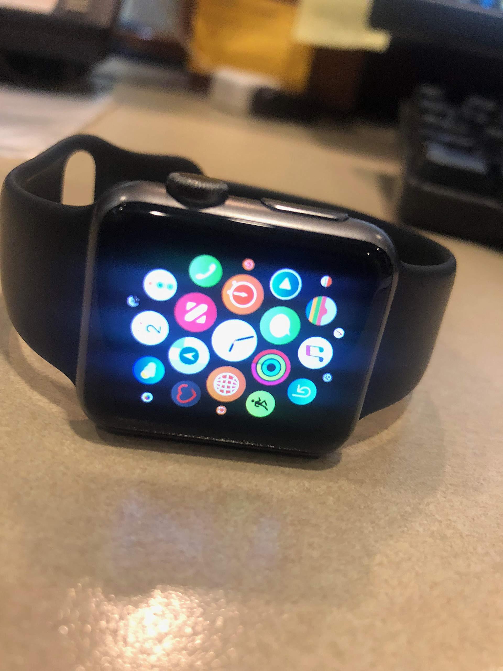 Apple Watch Series 1 Smartwatch (Space Gray Aluminum Case/Black Sport Band)