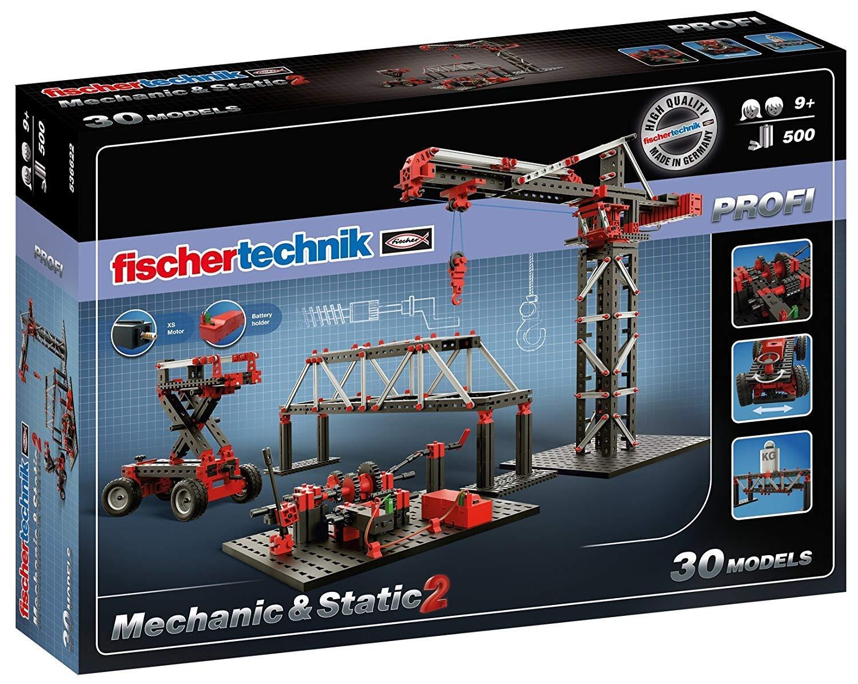marca de lujo Fischertechnik Mechanic and Static 2 – – – Aprende Mecánica con este Diverdeidísimo Juego de Construcción con 30 modelos Diferentes  precios al por mayor