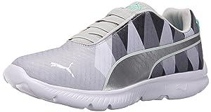 PUMA Women's Fashin ALT Triangle Sportstyle Sneaker, Gray Violet/Puma Silver, 8 B US