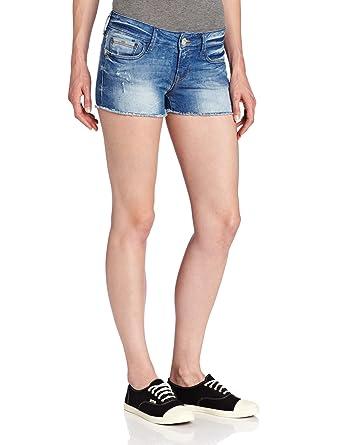 1a41bc44b0 Mavi Women's Tiara Denim Short, Blue Rustic 32 at Amazon Women's Clothing  store: Jeans