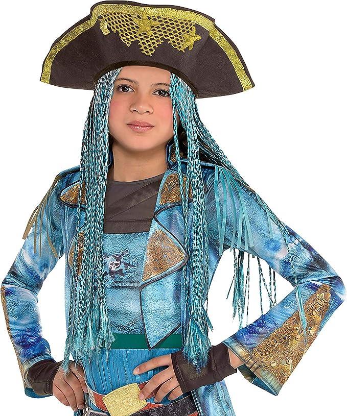Sombrero Uma con trenzas de los descendientes para disfraz de ...