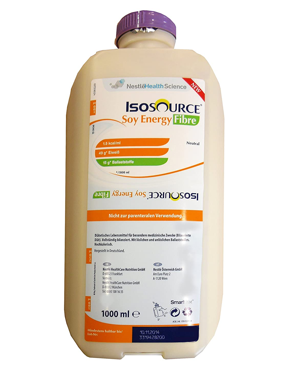 Isosource® Soy Energy Fibre - Sondennahrung - hochkalorisch - mit ...
