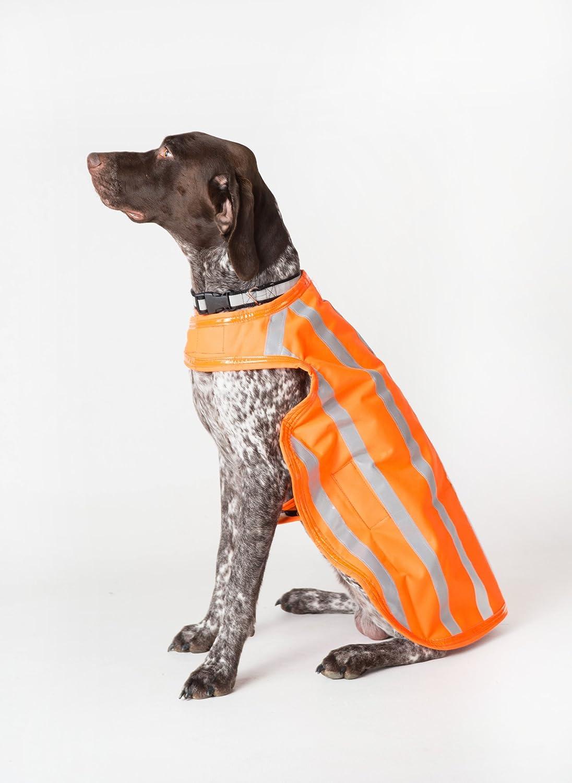 Dog Hunting Jacket (High Visibility Waterproof) Large