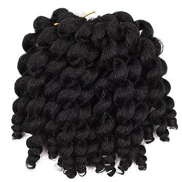 Silike Jumpy Wand Curl Crochet Zöpfe Haarverlängerung 1 Pack